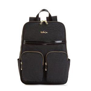 Kipling Sandra Padded Laptop Backpack Black
